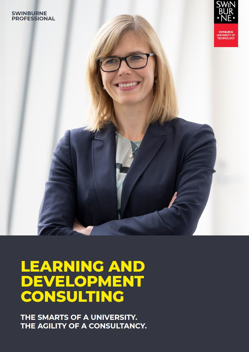 Swinburne Professional Learning and Development Consulting Statement April 2020
