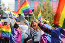 2019 Pride Day March throughout Swinburne's Hawthorn Campus. In support of our LGBTQI community.