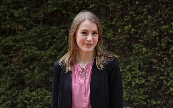 Natalie is the first Swinburne student to undertake a paid professional placement at Bendigo Bank's head office in Melbourne.