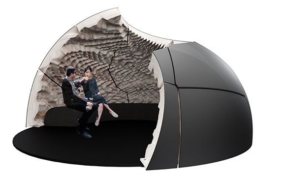 concepts for living architecture - mycelium meeting pods