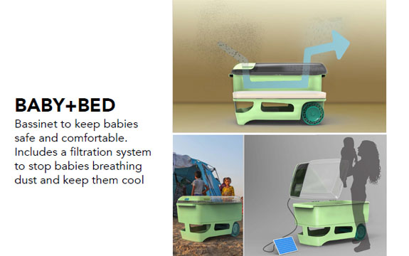 Baby bed concept design