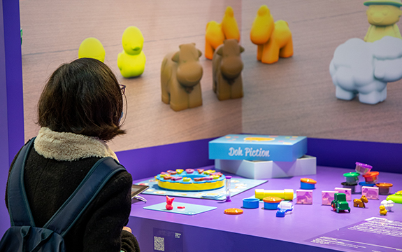 Toy designed by Swinburne student Katey Tran at DesignInspire exhibition