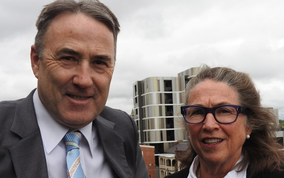 Stuart Morris QC and Leonie Hemingway led attempts at reforming local government