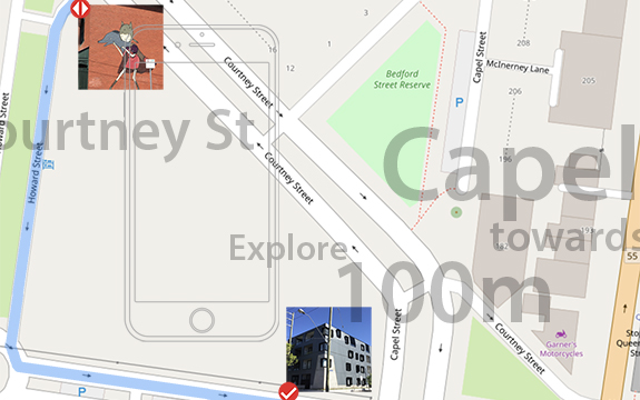 images and map data, copyright OpenStreetMap contributors