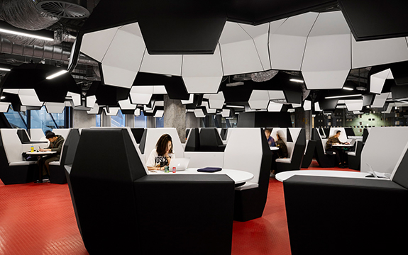 Custom-designed study-pods in a range of scales and configurations