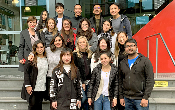 Students have collaborated with industry to raise funds for Swinburne community members affected by autonomic nervous system disorder, POTS.