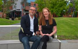 Professor Dan Hunter and Dr Grainne Oates cofounded Quitch, a gamified learning app that encourages students to answer timed quiz questions based on their coursework.