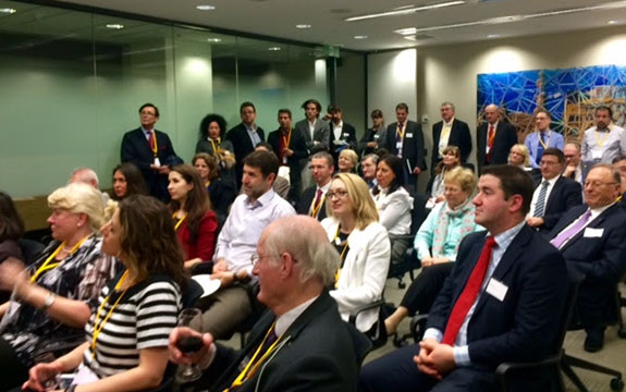 Over 120 guests spent an evening networking, discussing and exploring the business opportunities in Central and Eastern Europe.