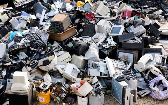 More than 40 million tonnes of e-waste is generated around the world each year and this is expected to keep growing rapidly for the foreseeable future.