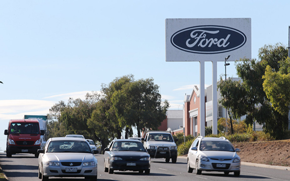 The closure of the Ford casting plant in Geelong signifies a manufacturing loss and possibly a bigger loss to society. David Crosling/AAP
