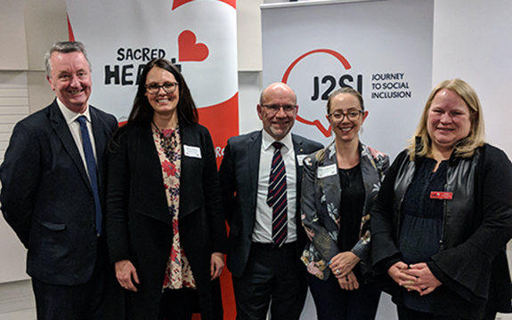 Hon Martin Foley MP, Dr Monica Thielking; Mr Chris Stolz; Dr Jessica Mackelprang; and Ms Cathy Humphrey