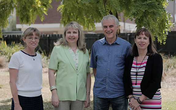 4 Learning and Academic Skills Centre staff members.
