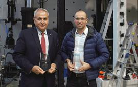 Professor Riadh Al-Mahaidi and Dr Robin Kalfat have developed fibre reinforced polymers to extend the life of existing concrete infrastructure.