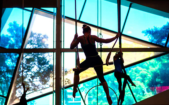 NICA students graduate with a Swinburne qualification and go on to great success as circus performers around the world.