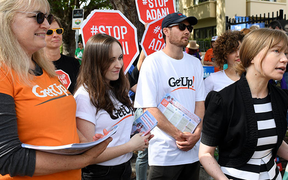 GetUp has been in the Coalition's firing line for a number of years now, which is not surprising, given its lobbying efforts for left-wing causes.