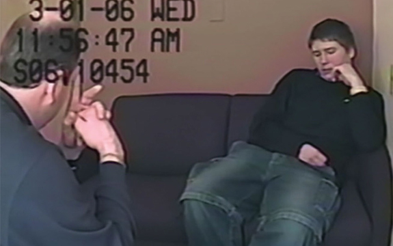 In the Netflix series Making a Murderer, Brendan Dassey is subject to interrogation tactics known as the 'Reid technique'. Netflix