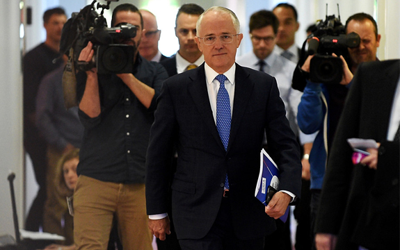 All eyes are now on Malcolm Turnbull to help deliver on his pitch to transition the economy. Sam Mooy/AAP
