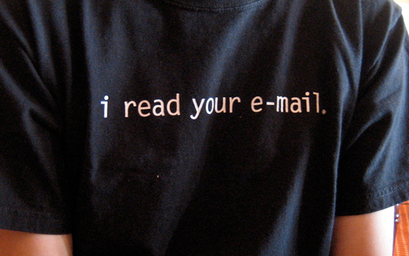 The government can't read your email, but it will be able to find out where you sent it to and from. Image credit: Paul Downey/Flickr, CC BY.