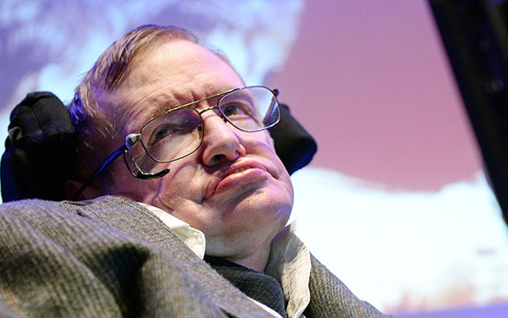 British theoretical physicist and cosmologist, Professor Stephen Hawking in 2014. | Image: EPA/Andy Rain