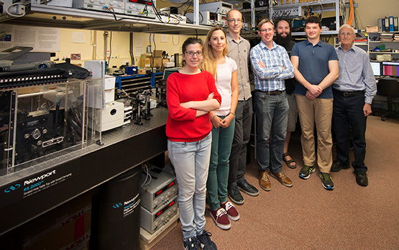 Researchers in the Ultracold Atomic Gas Lab create topological states at a billionth the temperature of outer space.