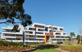 At the Ashwood-Chadstone estate, Port Phillip Housing Association has built homes, with no visible difference between the private and community dwellings.