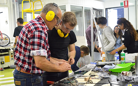Swinburne is to host a TOM Makeathon in its Advanced Technologies Centre on December 1-3.