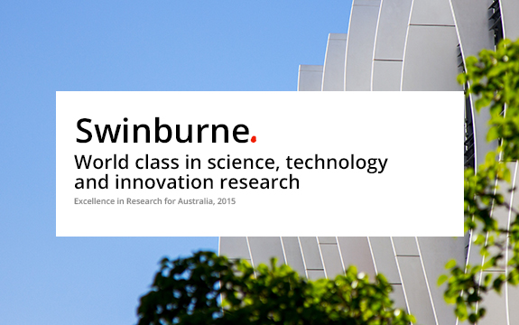Swinburne achieved the highest possible ranking of well above world standard in nine fields of research.