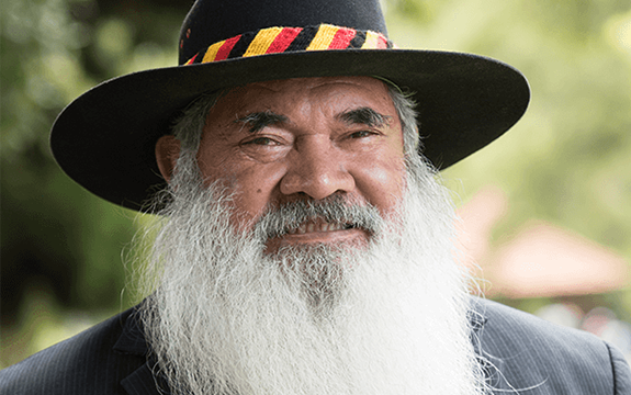 Senator Pat Dodson spoke of racism, deaths in custody and the fear of moving towards reconciliation at the Swinburne Annual Reconciliation Lecture 2020.