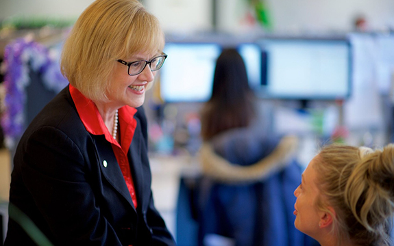 Swinburne has made significant gains under the leadership of Professor Linda Kristjanson AO.