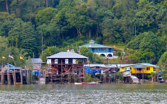 Kampung Salak is a remote fishing village, not far from the capital of Sarawak, Malaysia.