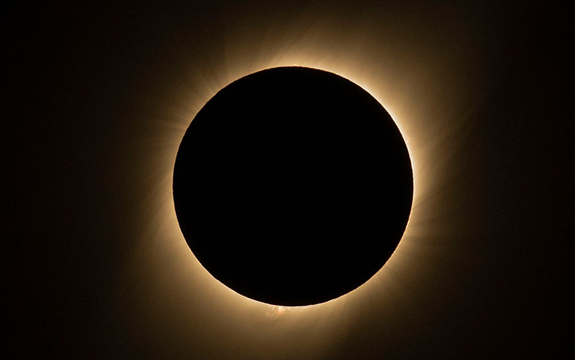 Total solar eclipse in Chile and Argentina, July 3