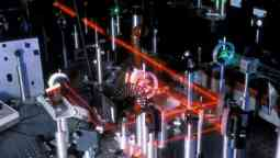 Research Laser in use.