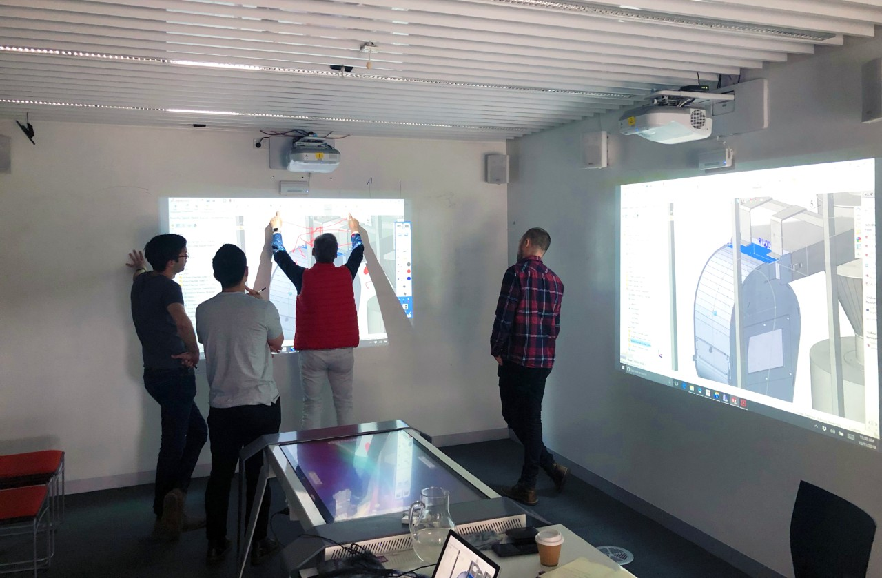 Digital interactive room