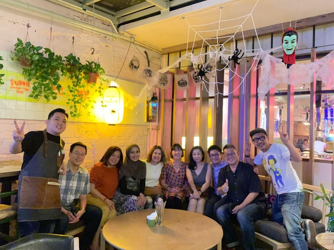 Swinburne Alumni Association Malaysia (SAAM) Committee in October 2019