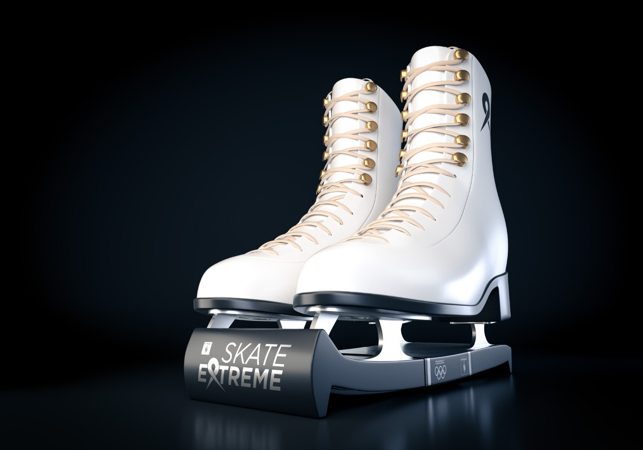 Image of student ice skates design.