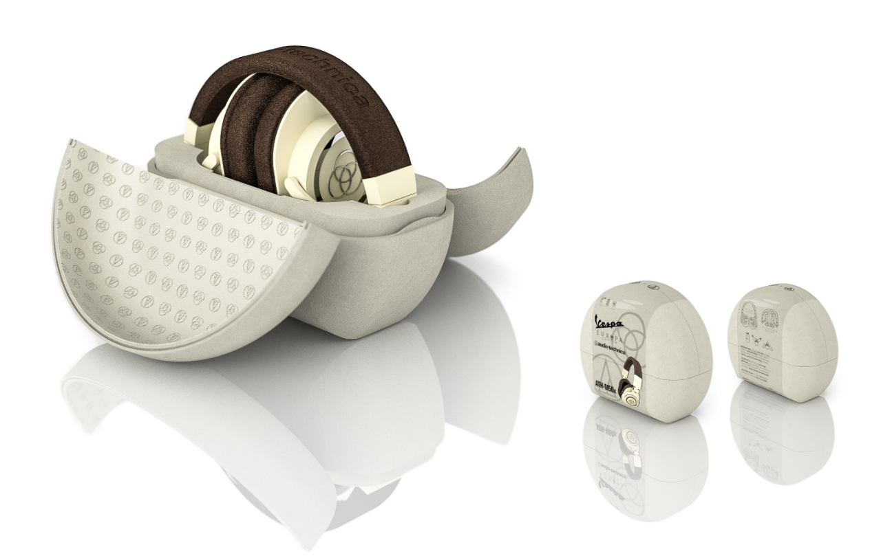 Image of student headphone design.