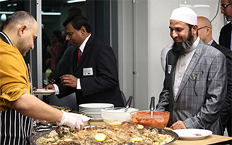Iftar dinner during Ramadan at Swinburne