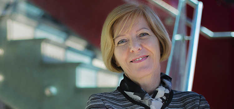 Professor Pascale Quester, Swinburne's Vice-Chancellor and President.