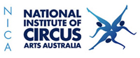 National Institute of Circus Arts logo