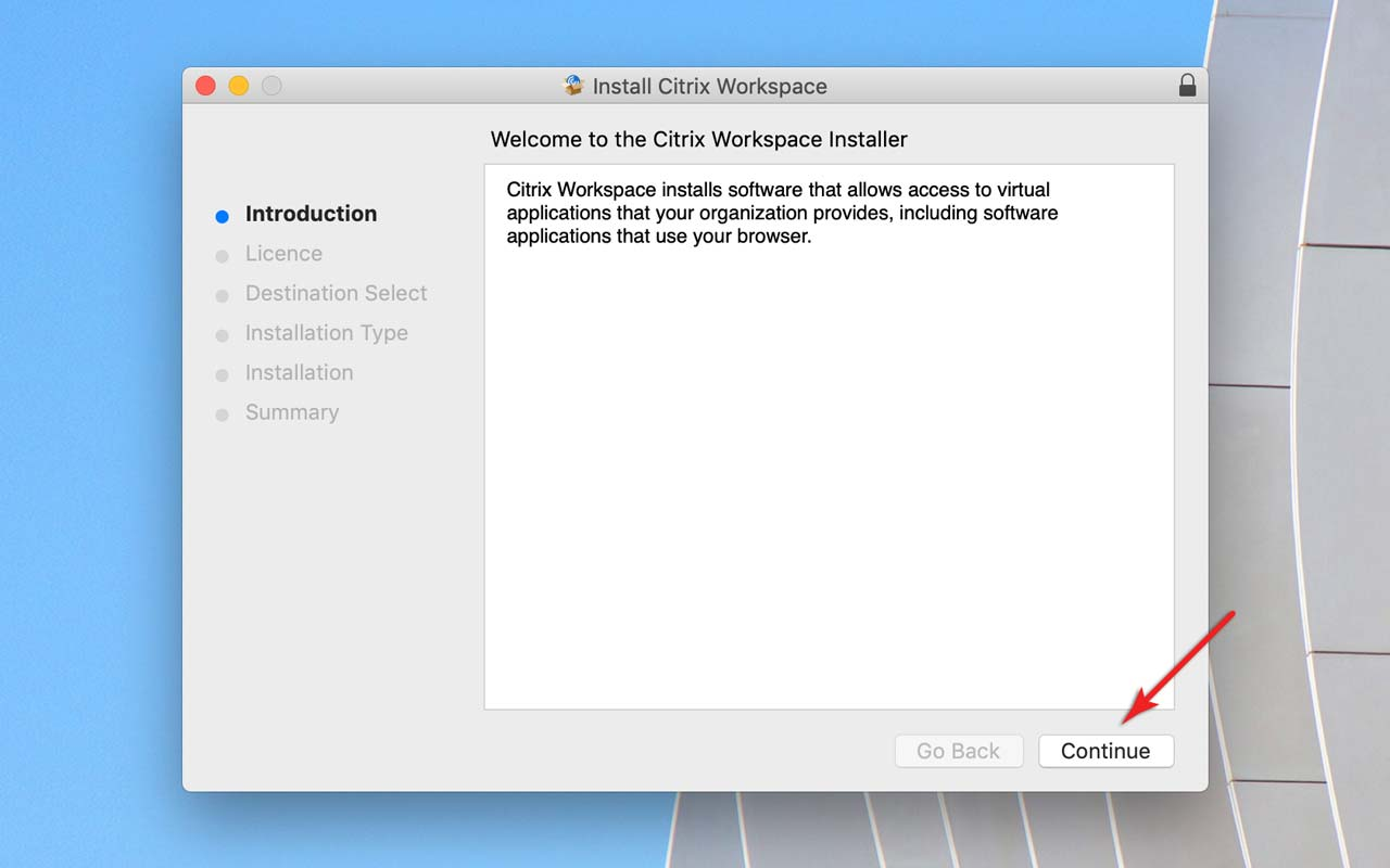 Apps on Demand | Installing Citrix Workspace on Mac