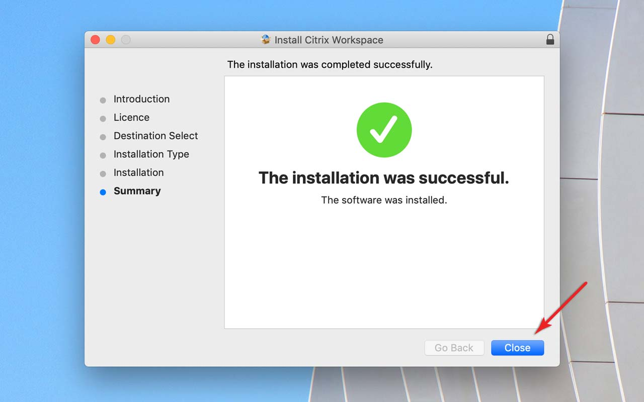 Apps on Demand | Installing Citrix Workspace on Mac | Swinburne
