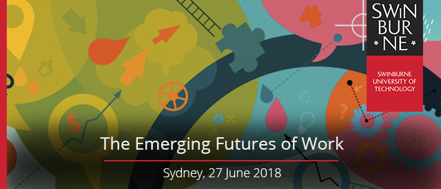The Emerging Futures of Work Sydney - banner