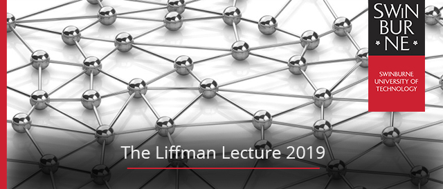 The Liffman Lecture 2019 banner