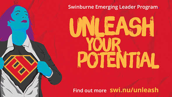 Swinburne Emerging Leaders Program unleash your potential