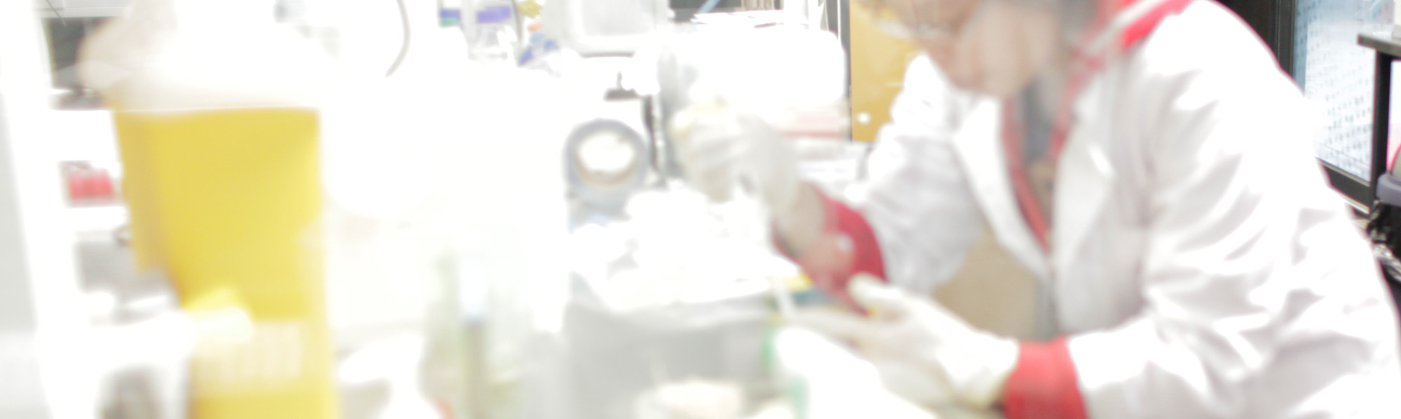A researcher in one of Swinburne's labs.