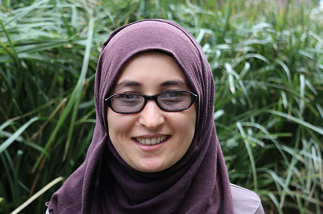 Narges Ahmadi, recipient of a CFO Solution Scholarship at Swinburne University
