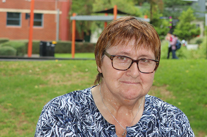 Lorri Beer established the Edyth Rawson Student Achievement Award in memory of her aunt