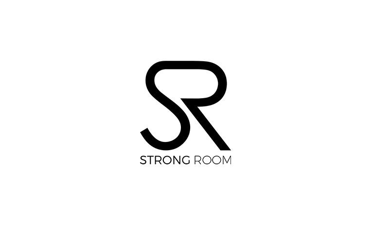 Strong room logo.