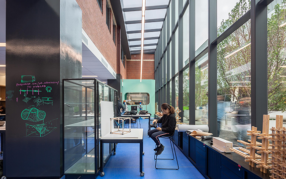 ProtoLAB's light-filled workspaces