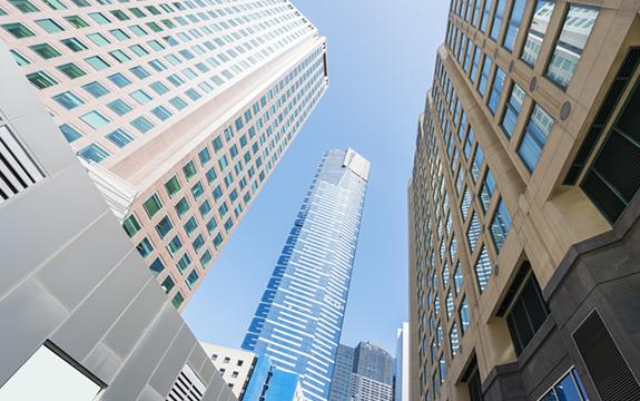 Melbourne CBD skyscrapers